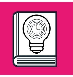 book idea creative icon vector image