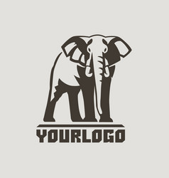 Elephants logo sign pictogram-04 vector