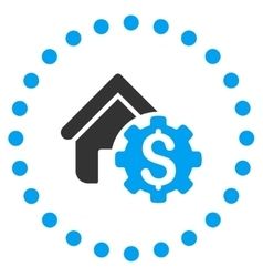 House Rent Options Icon vector image