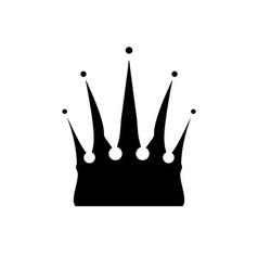 Icon of Crown vector image