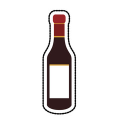 liquor bottle icon image vector image