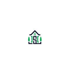 modern home logo icon vector image