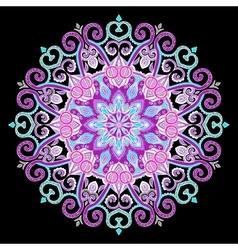 New Round Mandala-05 vector image