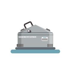 sedimentation brewing production process vector image