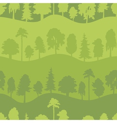 Tree pattern vector image