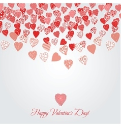 card for Valentines day vector image