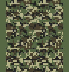 digital fashionable camouflage seamless vector image