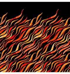 Fire flame watercolor seamless pattern-model for vector image