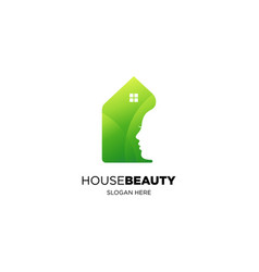 green house beauty vector image