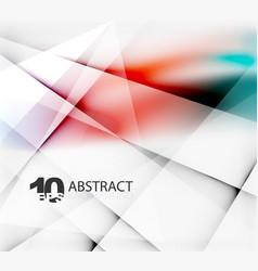 hi-tech or business futuristic blurred template vector image