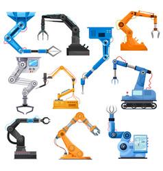 Industrial robotic arms robot manipulator vector