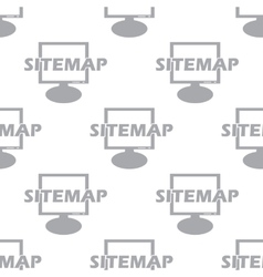 New Sitemap seamless pattern vector