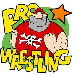 Pro wrestling vector