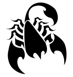 Scorpion vector image