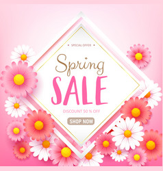 Spring sale background 008 vector