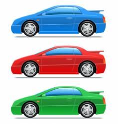 sport car vector image vector image