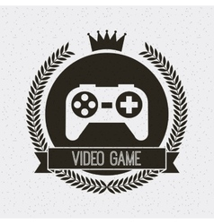 Control video game isolated icon vector