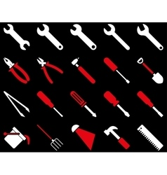 Equipment and Tools Icons vector image