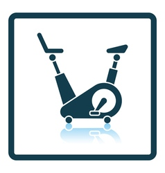 Icon of Exercise bicycle vector image