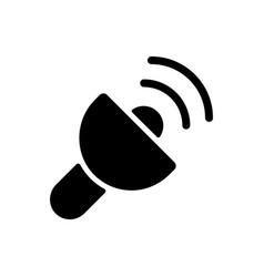 Lantern app black glyph icon vector