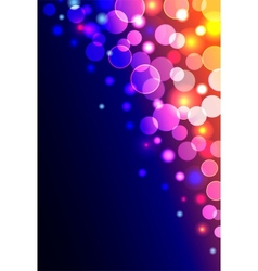 Abstract vertical shiny background vector image