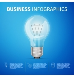 Business infographics vector image