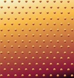 Metal Background Or Texture Of Brushed Gold Plate vector image