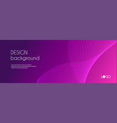 Abstract banner template minimal vector
