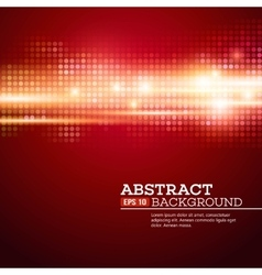 Abstract bokhe lights background Disco music vector image