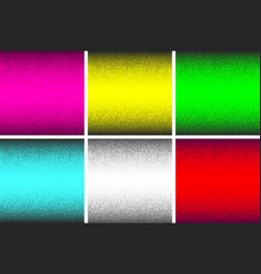 abstract glowing technology backgrounds set vector image