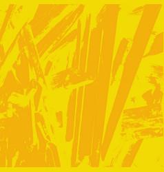 grunge yellow background vector image