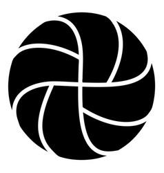 Handball icon simple black style vector