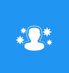 immune system immunity icon vector image