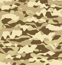 Military beige desert fashion seamless pattern vector