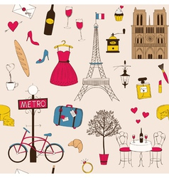 Paris Pattern vector