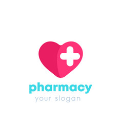Pharmacy drugstore logo vector