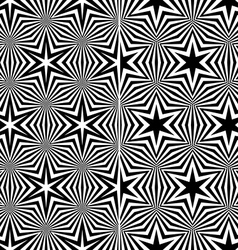 Seamless Starry Patterns vector image vector image