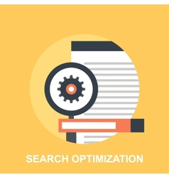Search Optimization vector image
