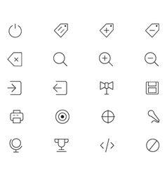 User Interface Icons 26 vector