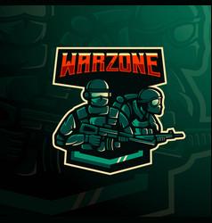 Warzone logo vector