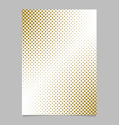 abstract halftone dot pattern brochure background vector image vector image