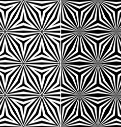 Seamless Triangle Elements Pattern vector image vector image