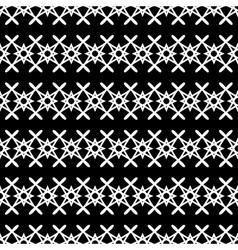 Stars geometric seamless pattern 3107 vector image vector image
