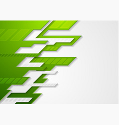abstract green grey tech corporate vector image