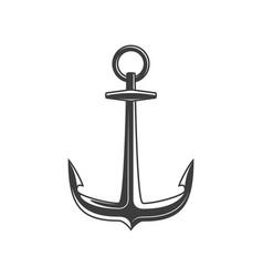 Anchor icon vector