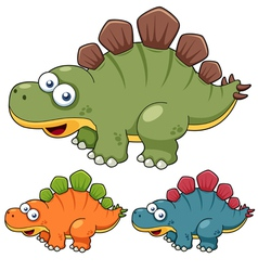 Cartoon dinosaur vector