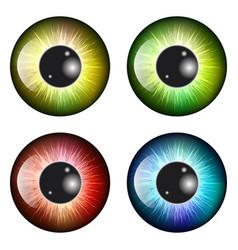 Eye pupil iris symbol icon design beautiful vector