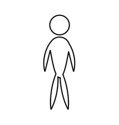 Man male people icon pictogram vector