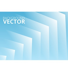 Abstract blue arrows background vector image vector image