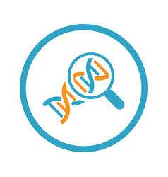 Biochemistry icon flat design vector